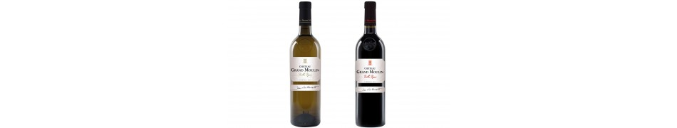 Vins Corbieres Chateau Grand Moulin gamme Tradition