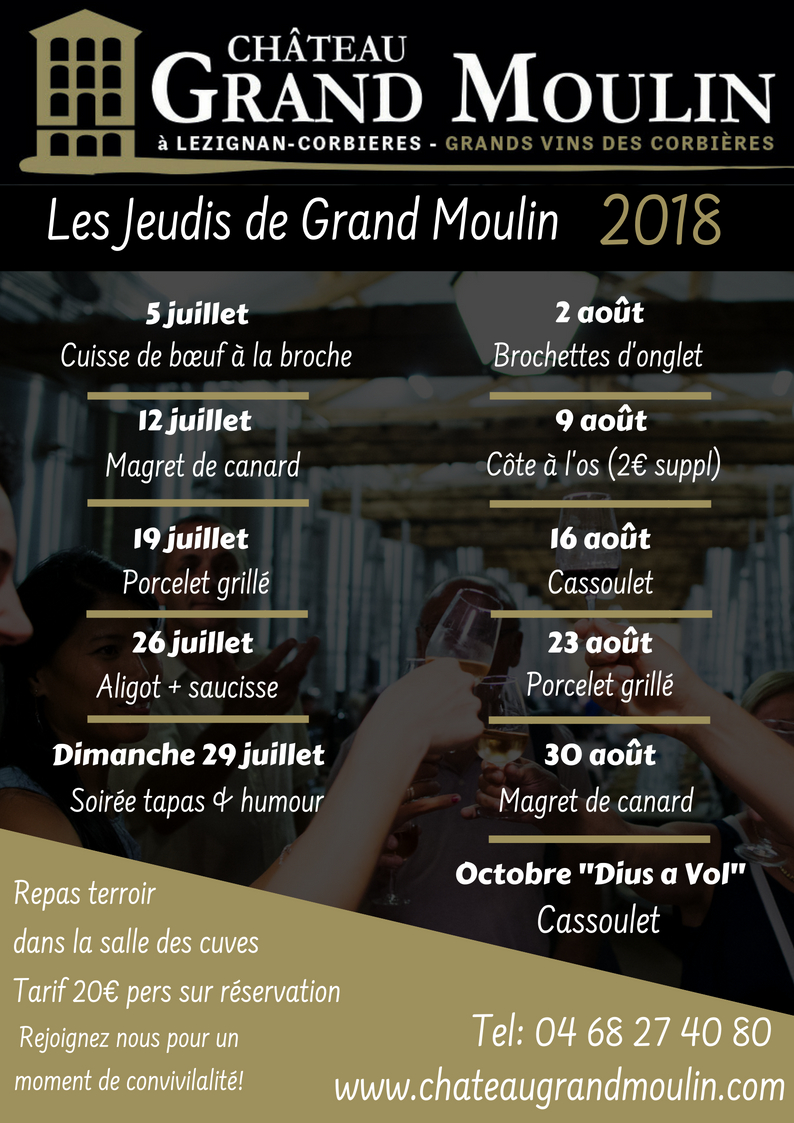 les jeudis de grand moulin